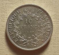 (Monnaies). France. 10 Fr Argent Hercule. Dupré. 1967 - K. 10 Francs