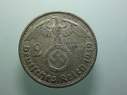 Germany 2 Reichsmark 1939 F Silver - 2 Reichsmark