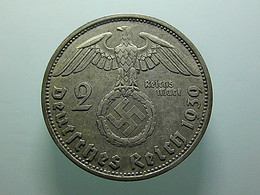 Germany 2 Reichsmark 1939 A Silver - 2 Reichsmark