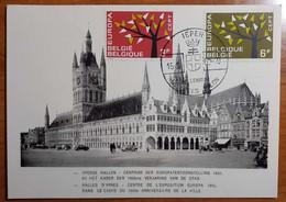 BELGIO 1962 FDC EUROPA - 1961-70