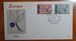 BELGIO 1965 FDC EUROPA - 1961-70