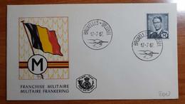 BELGIO 1967 Franchise Militaire - 1961-70