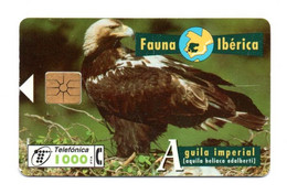 "Cabitel 1000 PTA ""Aguila Imperial"" - Fauna Iberica - Thème Animaux Rapaces Aigle - Sammlungen"