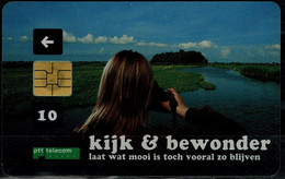 NETHERLANDS 2004 PHONECARD LET WHAT'S BEAUTIFUL STAY SO USED VF!! - öffentlich