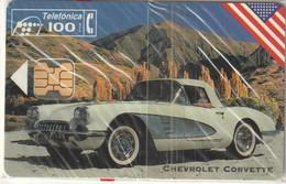 ESPAÑA. COCHE - CAR. Chevrolet Corvette. 1994-10. 4000 Ex. P088. (1). MINT - NUEVA. - Privatausgaben
