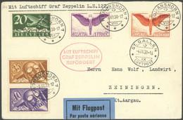ZULEITUNGSPOST 71A BRIEF, Schweiz: 1930, Schweizfahrt, Abwurf St. Gallen, Prachtbrief - Luftpost