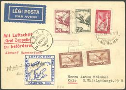 ZULEITUNGSPOST 74 BRIEF, Ungarn: Nordlandfahrt, Karte Feinst - Luftpost