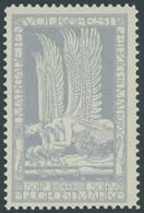 HALBAMTLICHE FLUGMARKEN 4a **, 1912, 50 Pf. Hellblau Margaretenfest, Postfrisch, Pracht, Mi. 130.- - Luftpost