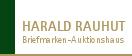 Harald Rauhut Briefmarken Auktionshaus GmbH